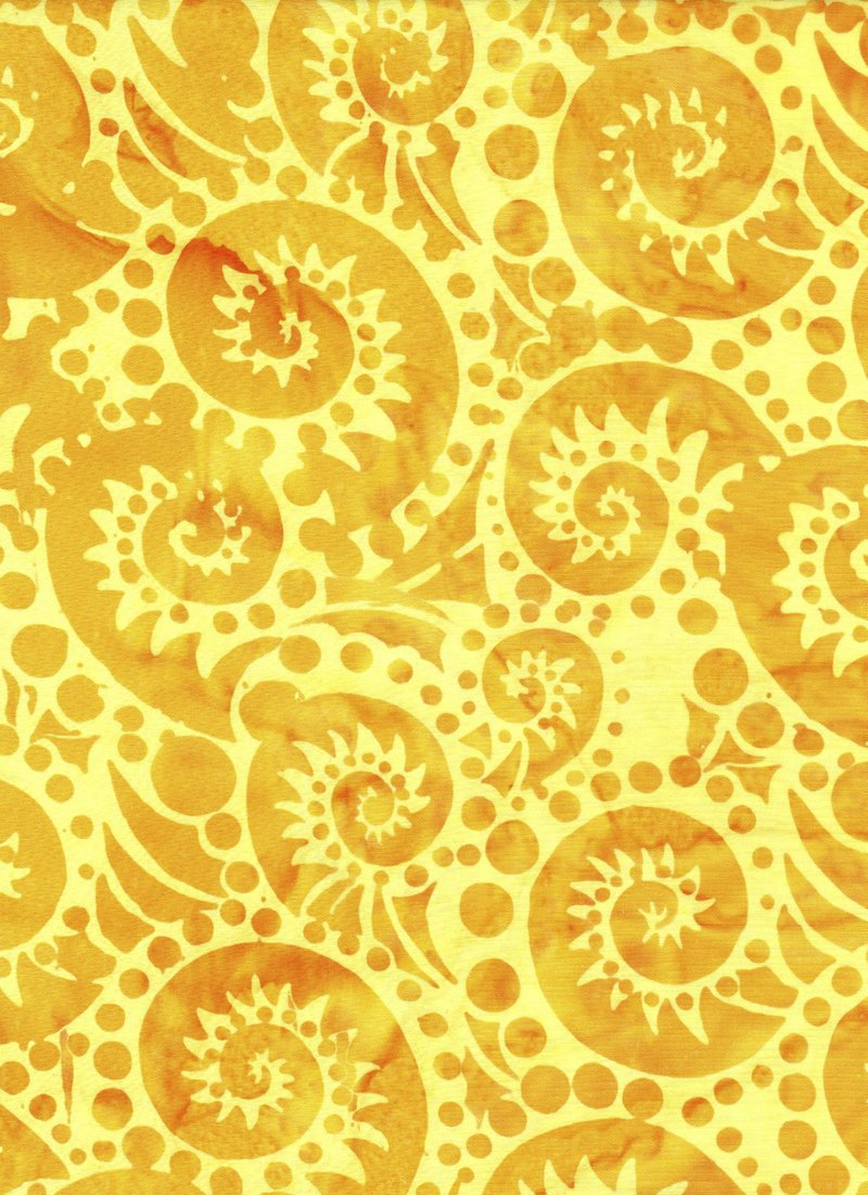 I Sea Spots, 3334, Med Yellow