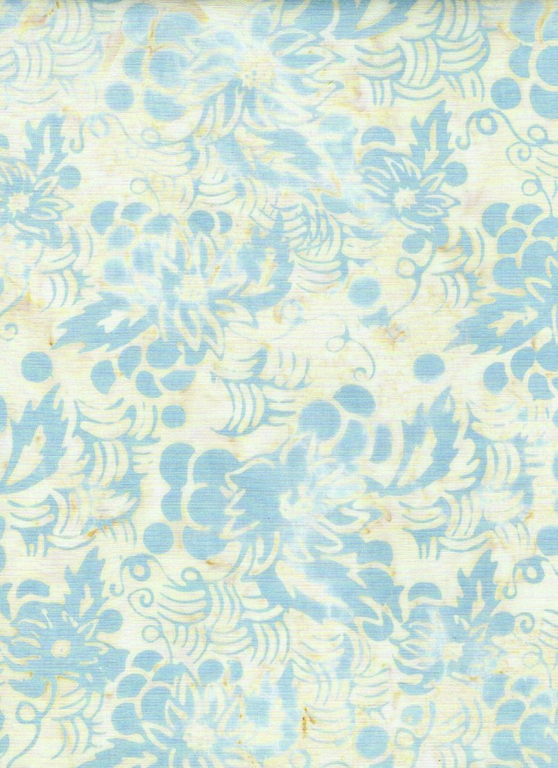 I Sea Spots, 3337, Cream/Lt. Blue