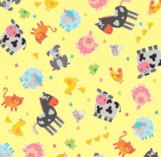 Funny Farm, Yellow Tossed Animals