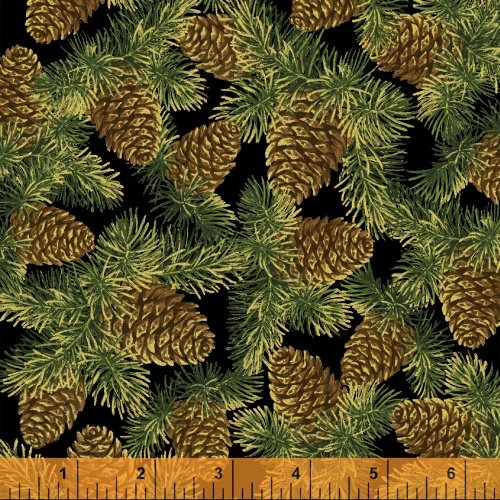 Black Pinecones