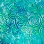 Swirls on Blue/Green Background