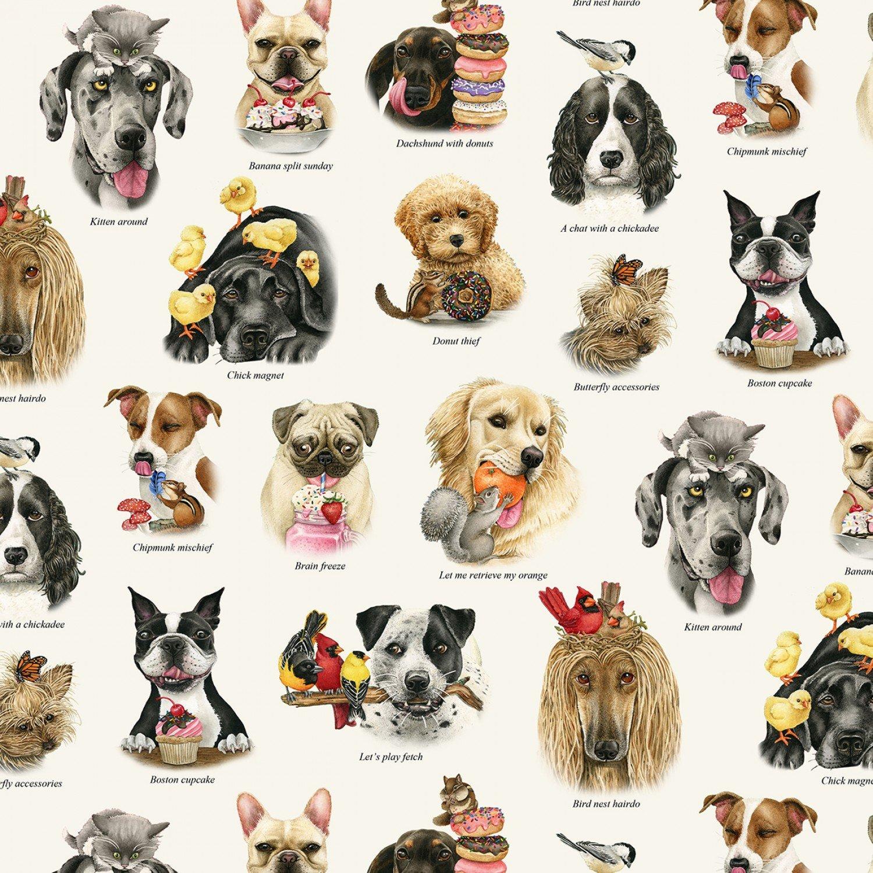 Doggie Drama, All Over Print