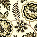 Metallic Lace Ivory