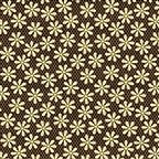 Metallic Daisy Black/Gold