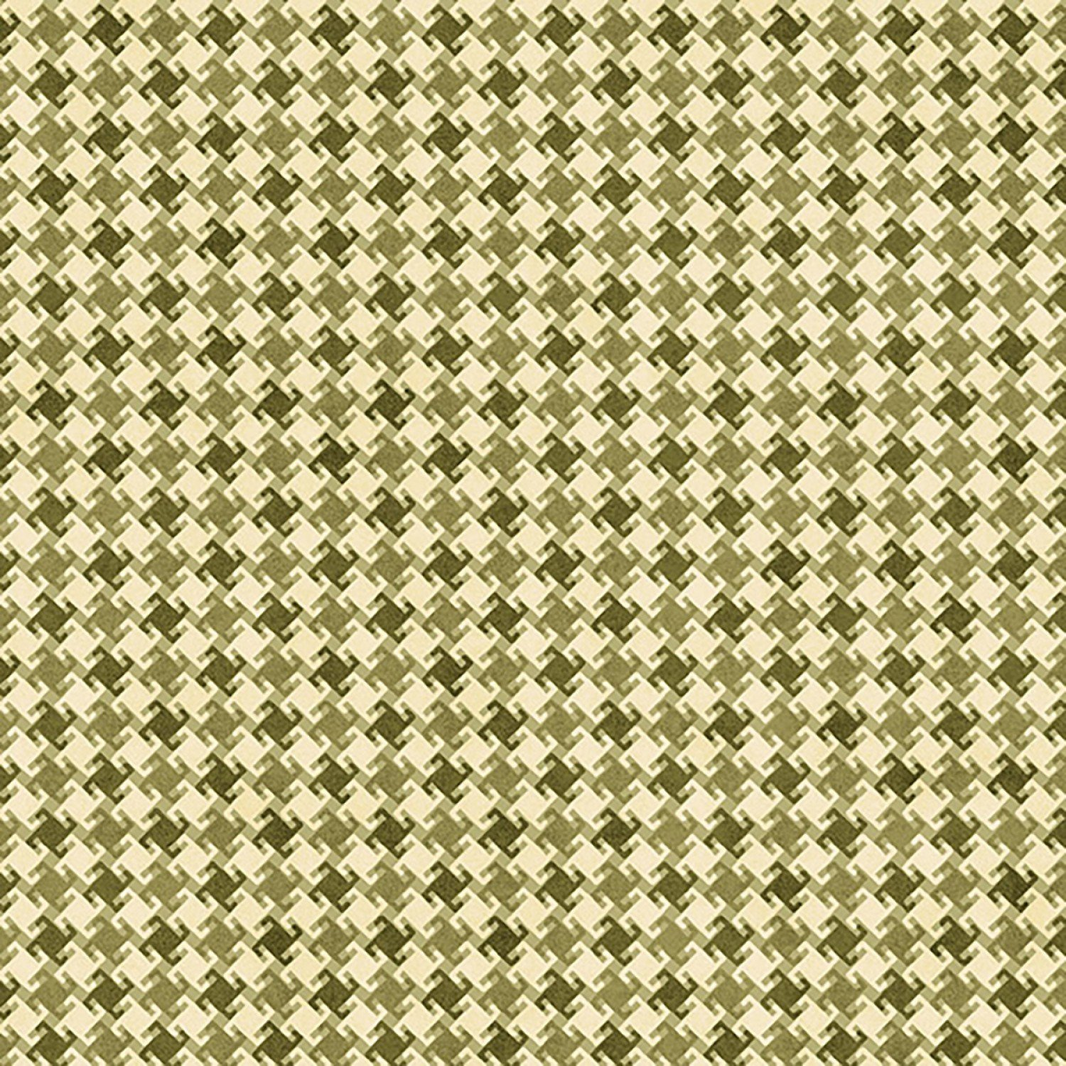 My Precious Quilt, Green Houndstooth