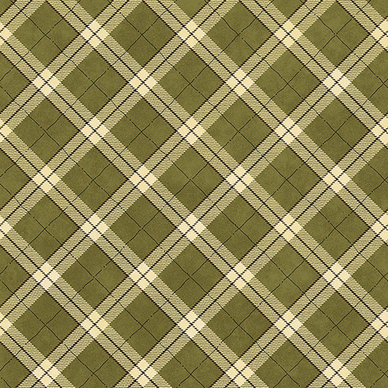 My Precious Quilt, Green Plaid