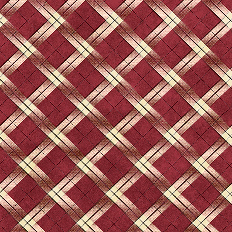 My Precious Quilt, Red Plaid