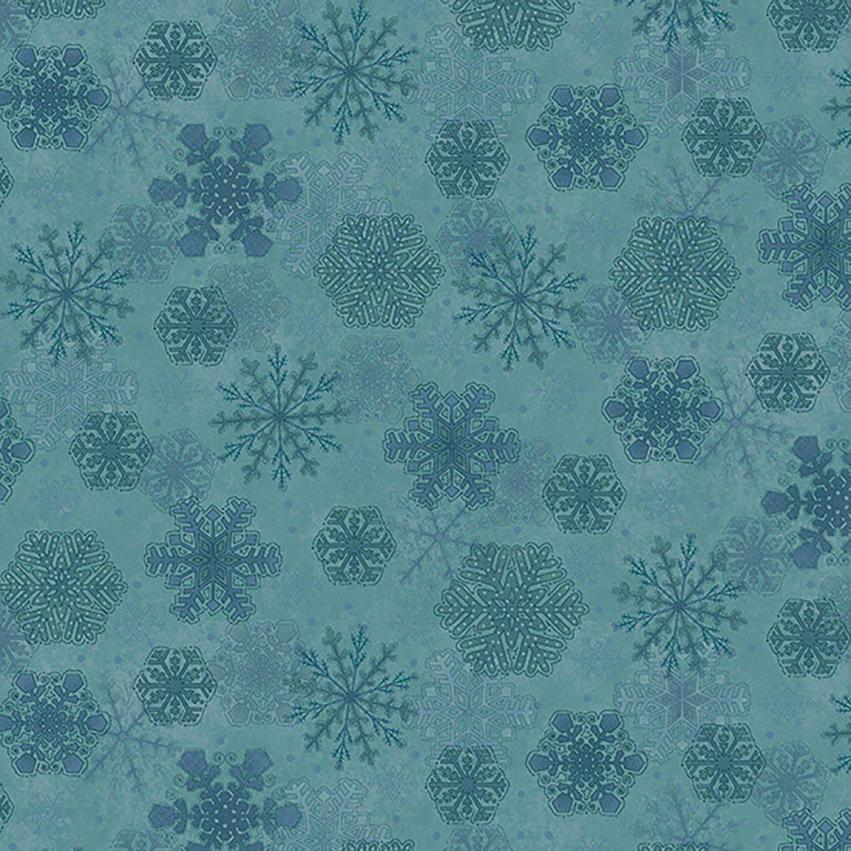 My Precious Quilt, Blue Snowflake