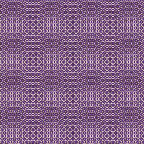 Mini Floral Foulard Purple