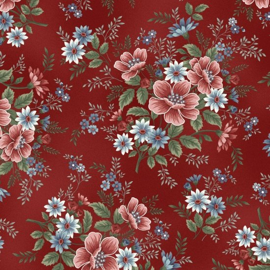 Master Floral, Red