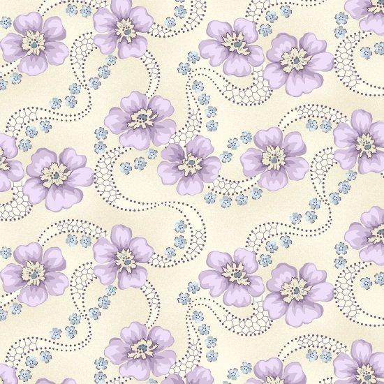 Primroses, Linen, Twilight Garden