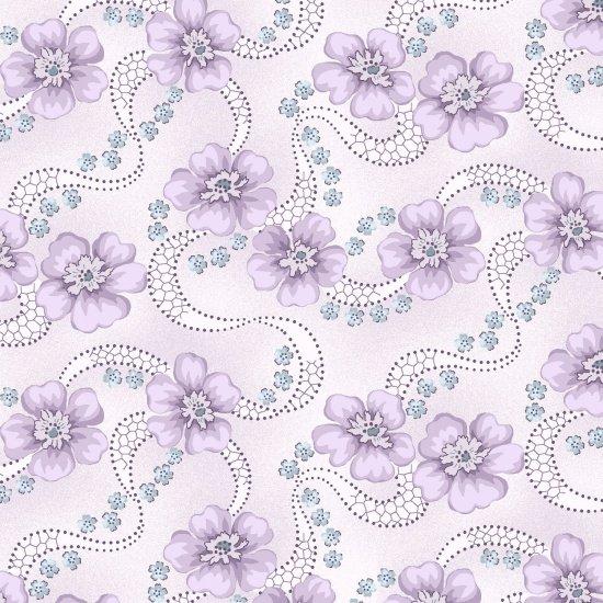 Primroses, Lilac, Twilight Garden
