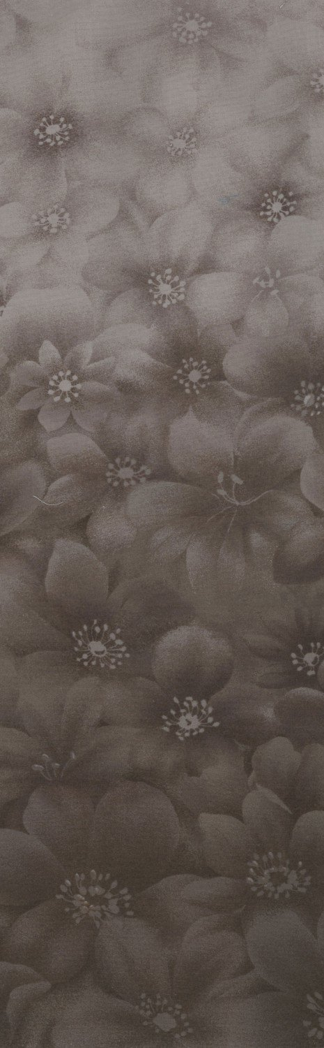 Serenity Ombre, Red/Taupe Flower