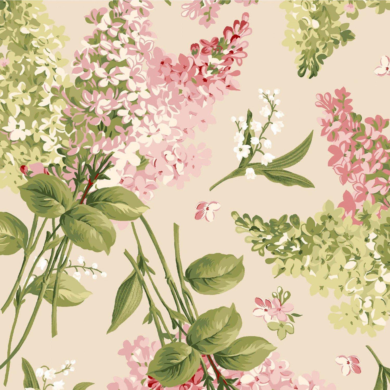 Natural Tossed Floral, Sensibility