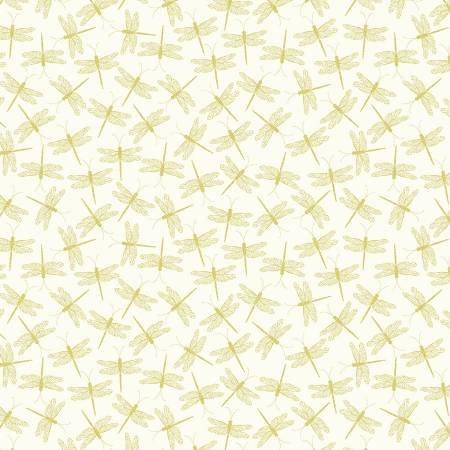 Cream Dragonfly Serenade w/Metallic