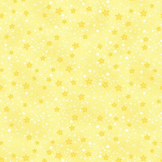 Comfy Flannel, Yellow Stars