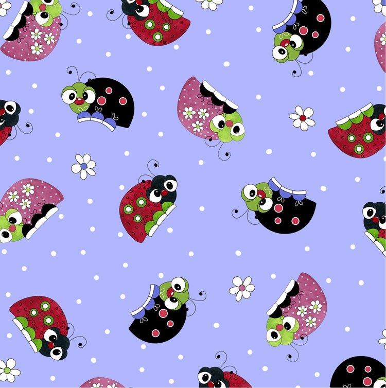 Lazy Little Ladybugs, Purple Ladybugs