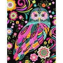 Feathers & Foliage, Black Owl
