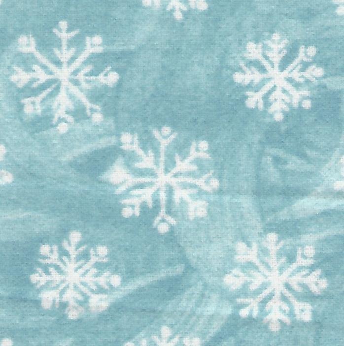 Snowflakes on Lt. Blue, 1812-2