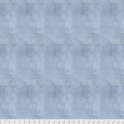 Brushed Geometric - Blue Jay