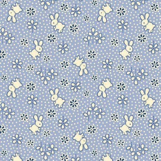 Bunny, Blue, Nana Mae