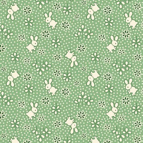 Bunny, Green, Nana Mae