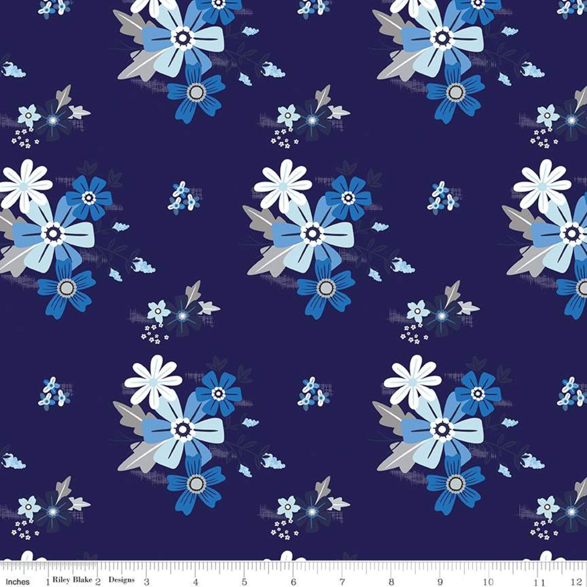Main Navy, Blue Stitch