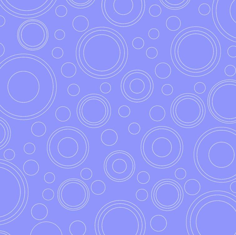 Lazy Little Ladybugs, Purple Geo Circles