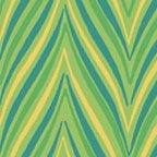 Chevron - Blue, Green & Yellow