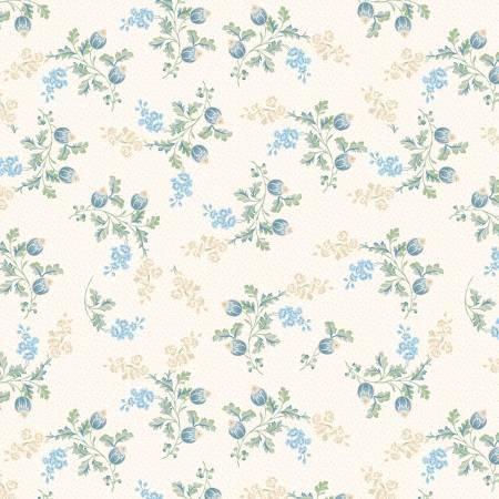 Cream Med. Floral