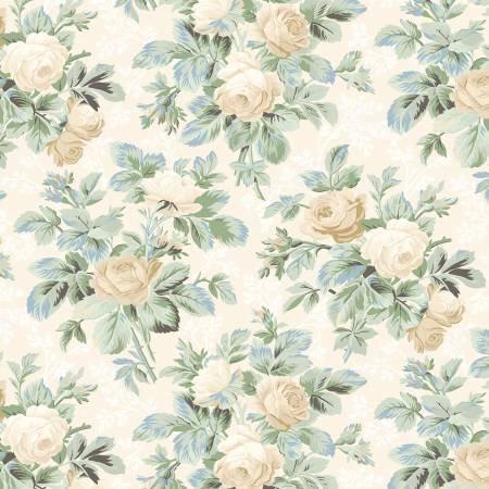 Cream Roses Allover