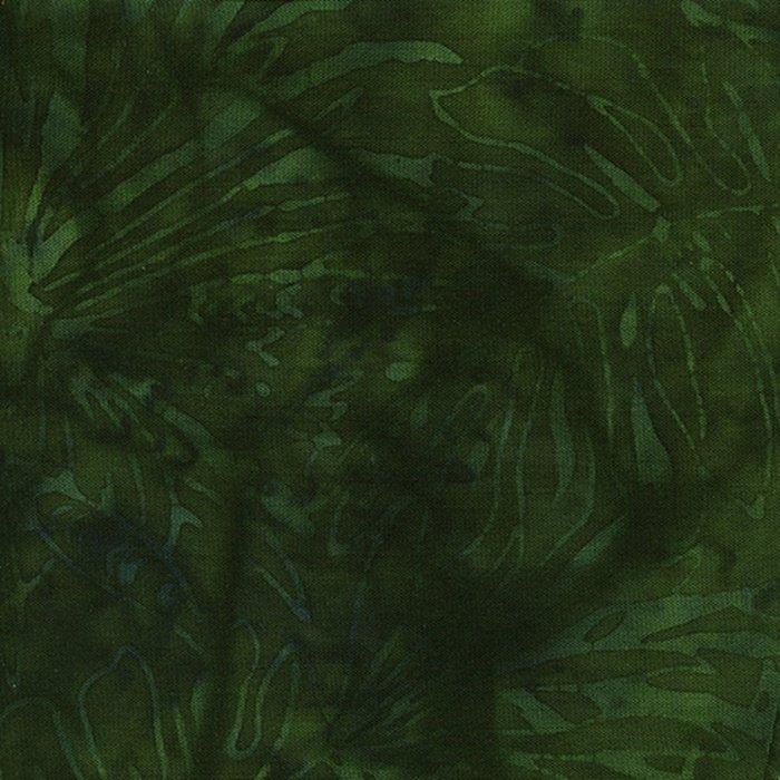 Batik Rayon, Emerald Fern