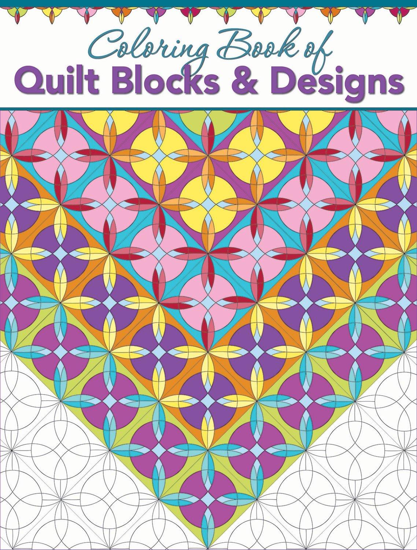 Quilt Blocks & Designs Coloring Book