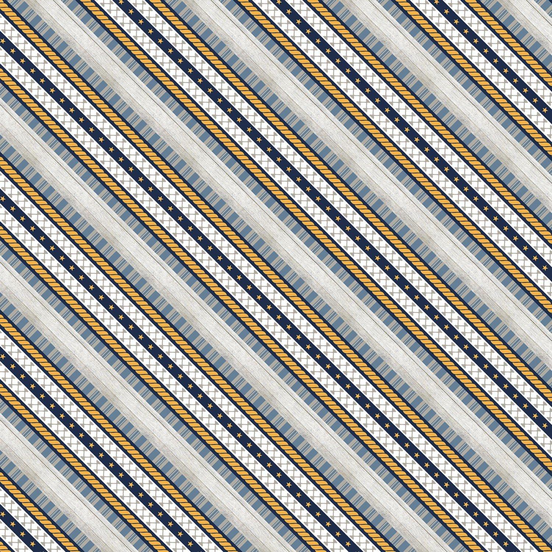 Grey Ticking Stripe, Lake Life
