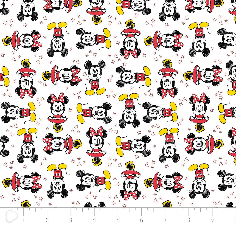 Mickey & Minnie, White