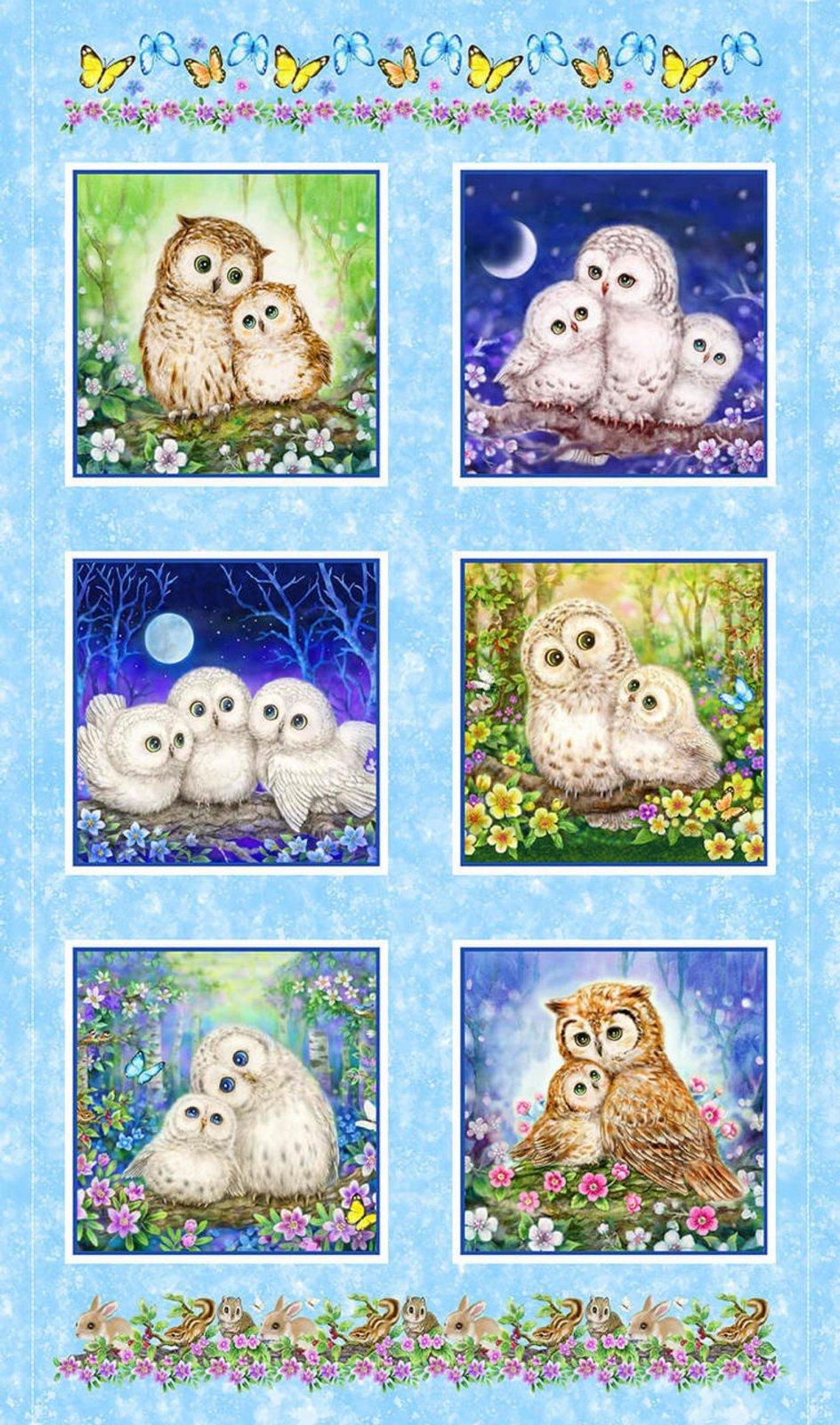 Epic Owls, Panel