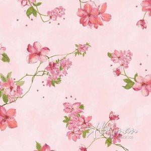 Painted Petals, Blush/Gold