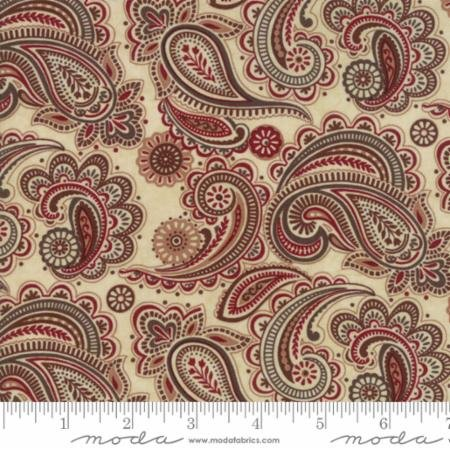 Christmas Winter Paisley Natural