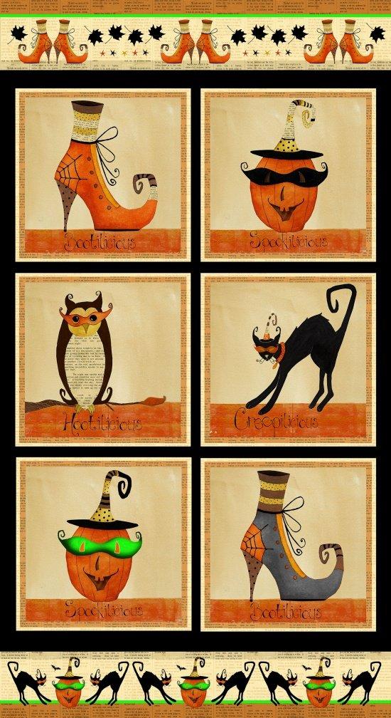 Cheeky Wee Pumpkins, Panel