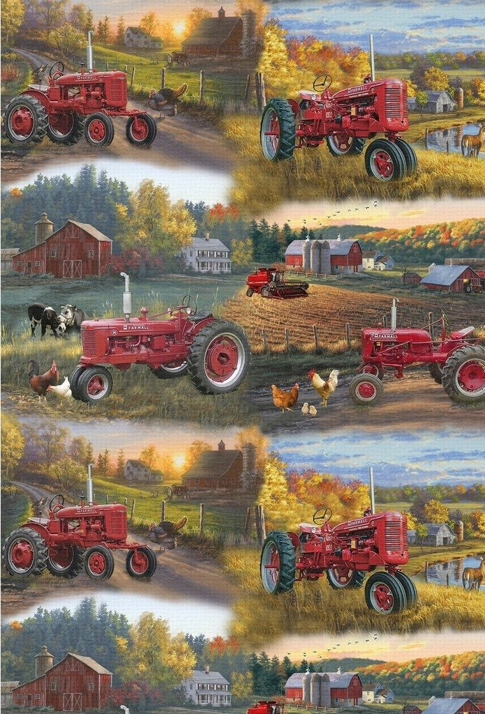 Farmall Allover Print