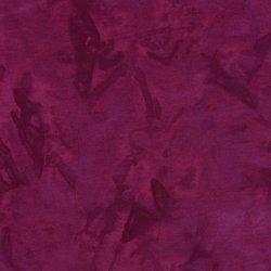 Batik Cotton - Basics - Plum