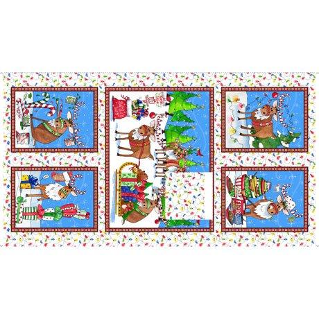 Reindeer Antics, Panel