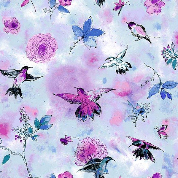 Hummingbird Flight - Sky