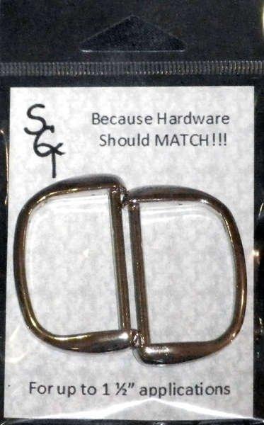 1 1/2 D Ring, 2 Pack