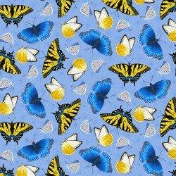Sunny Sunflower, Butterflies