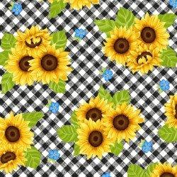 Sunny Sunflowers, Gingham Sunflowers
