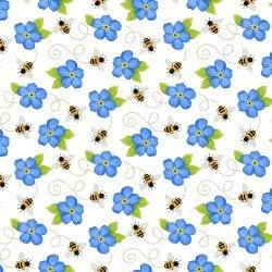 Sunny Sunflower, Bees & flowers