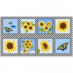 Sunny Sunflowers, Blocks