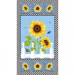 Sunny Sunflowers, Panel