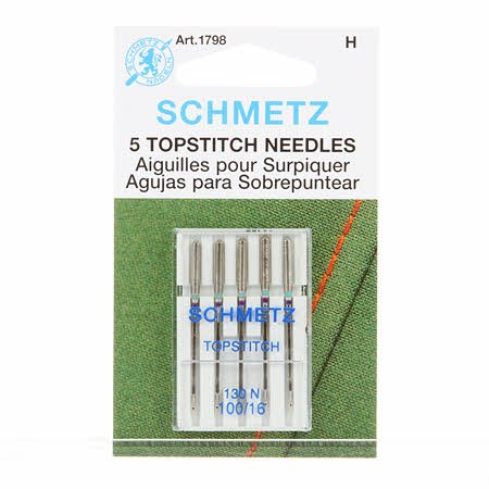 Schmetz Topstitch Machine Needles